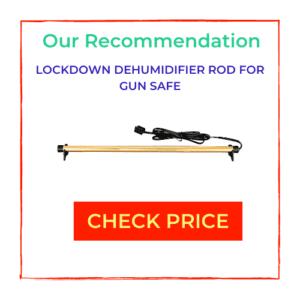 Sidebar for gun safe