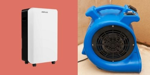 Household Vs Water Damage Dehumidifier