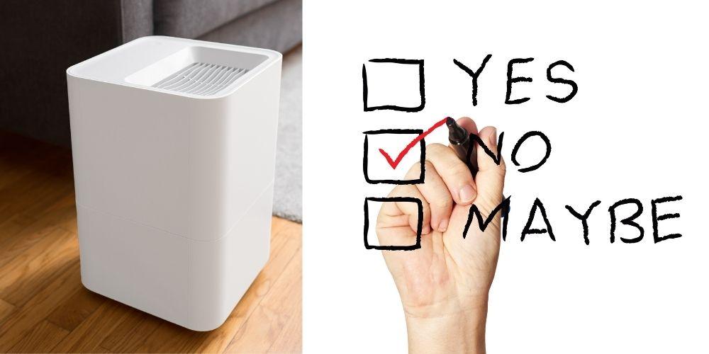 do not put air purifier here